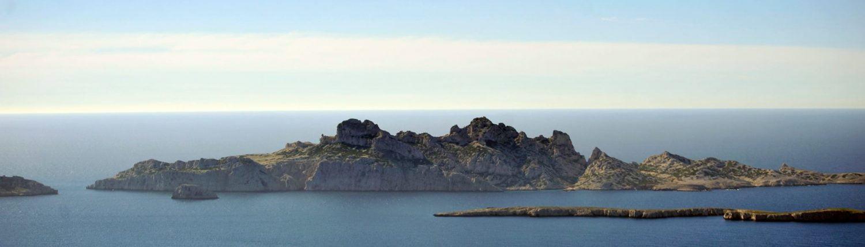 Archipel au large de Marseille pour la plongée